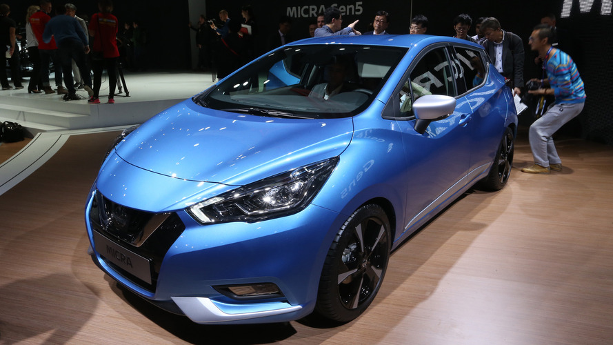 2017 Nissan Micra debuts with rad style, smart tech