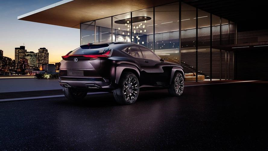 Lexus UX konsepti Paris gösterimi öncesi tanıtıldı