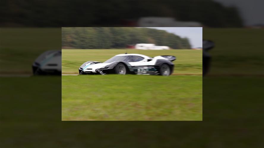 NextEV 1 MegaWatt supercar spied testing in UK