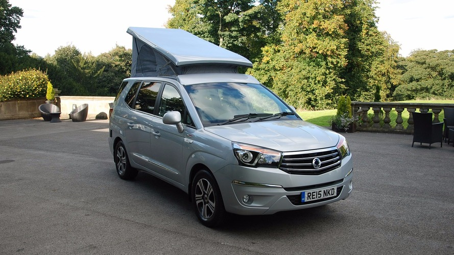 SsangYong Turismo Tourist camper conversion wins award