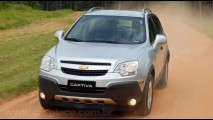 Chevrolet Captiva supera a marca de 10 mil unidades vendidas no Brasil