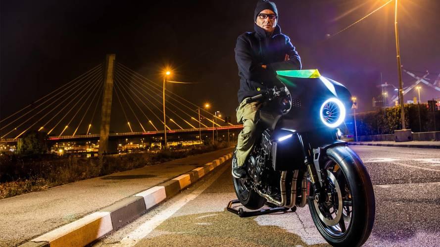Honda CB4 Interceptor concept bike 2018