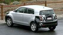 Toyota small SUV out testing