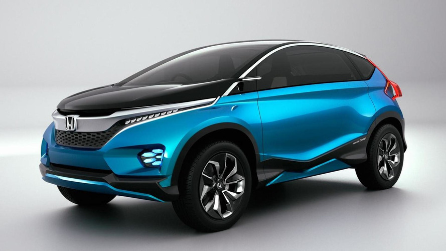 Honda Vision XS-1 concept revealed at 2014 Auto Expo in New Delhi