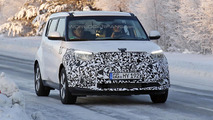 2014 Kia Soul EV spy photo
