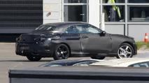 Mercedes C-Class Convertible spy photo