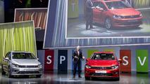Volkswagen Golf Sportsvan concept live in Frankfurt 09.9.2013