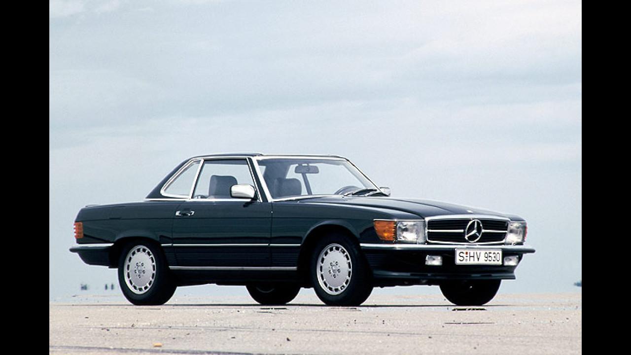 Sportwagen-Ikonen aus den 70er-Jahren - Mercedes Benz SL 350