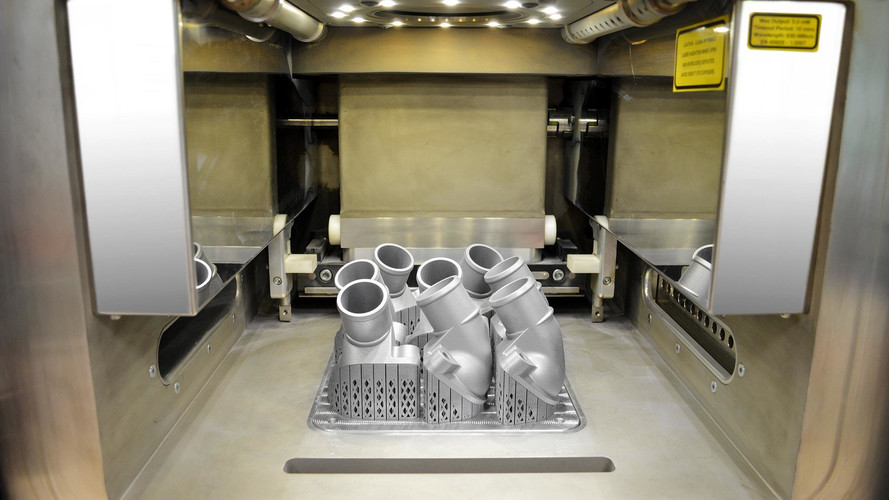 Fix Your Truck With Mercedes-Benz's 3d-Printed Metal Parts