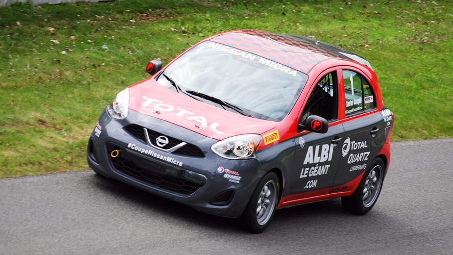 Xavier Coupal captures victory in Race 1 at Mont-Tremblant
