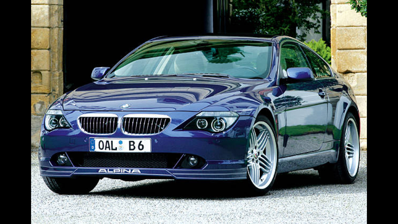 BMW Alpina B6 Coupé