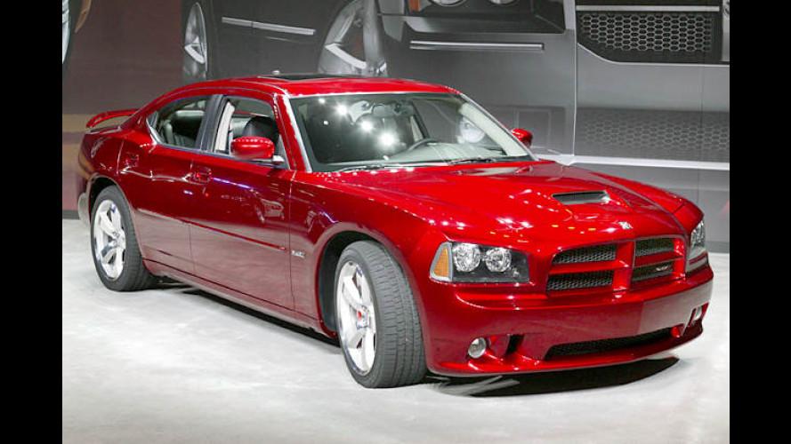 Dodge Charger SRT8: Schlachtross kriegt die Sporen