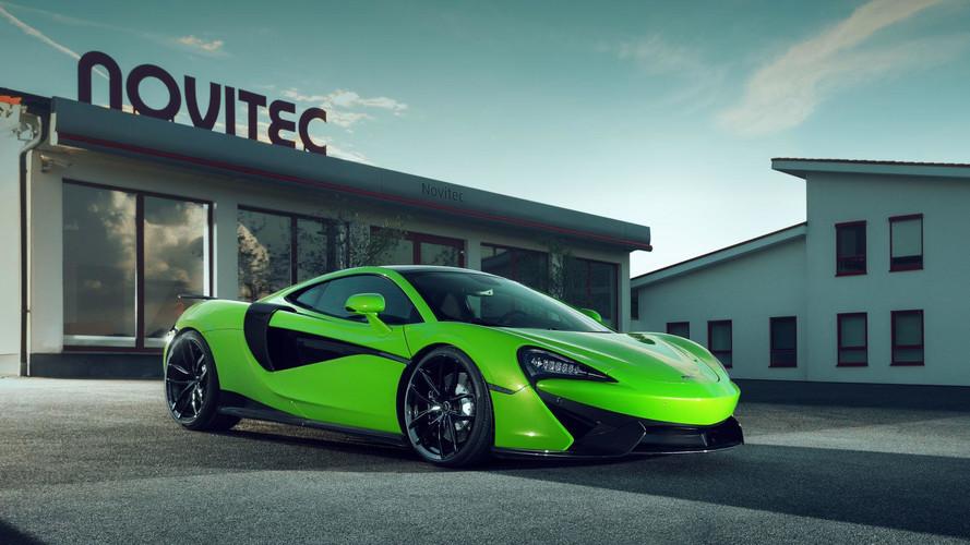 La McLaren 570GT revue par Novitec