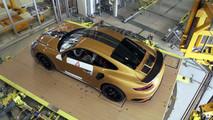 Porsche 911 Turbo S Exclusive Series üretim