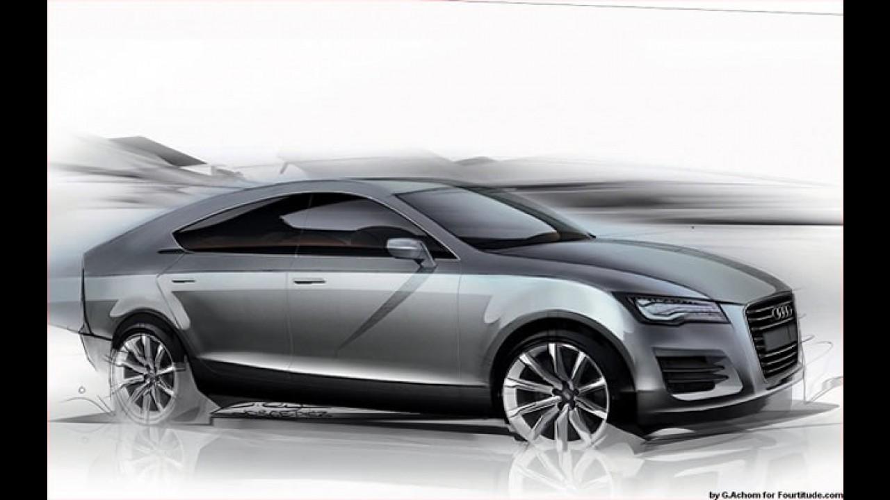 Audi Q6 confirmado para enfrentar BMW X6