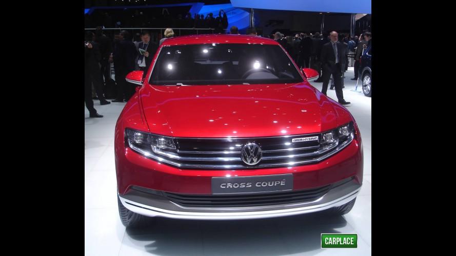 Direto de Genebra: Novo Volkswagen Cross Coupé Concept ao vivo