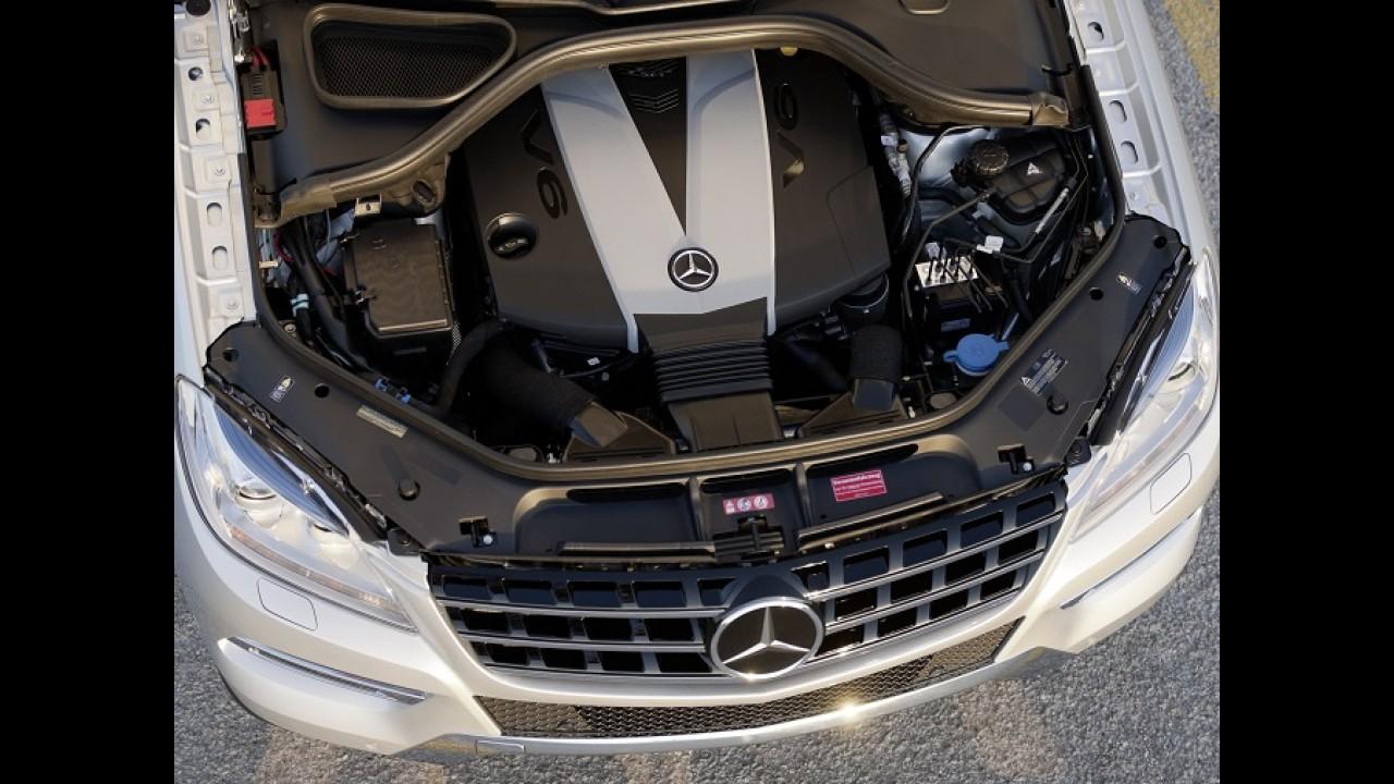 Mercedes ML 350 BlueTec chega ao Brasil com motor V6 diesel por R$ 259,9 mil