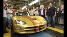 Dodge Viper: Última unidade personalizada sai da linha de montagem