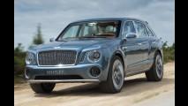 Vídeo: primeiro SUV da Bentley é flagrado em teste na rua