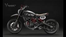 Estúdio de design cria versões da nova Ducati Scrambler