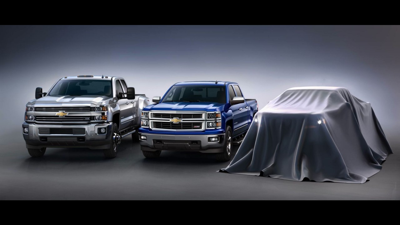 Chevrolet mostrará nova geração da Colorado norte-americana no Salão de Los Angeles