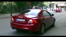 Facelift: Novo Volvo C70 2011 é flagrado durante sessão de fotos publicitárias em Barcelona