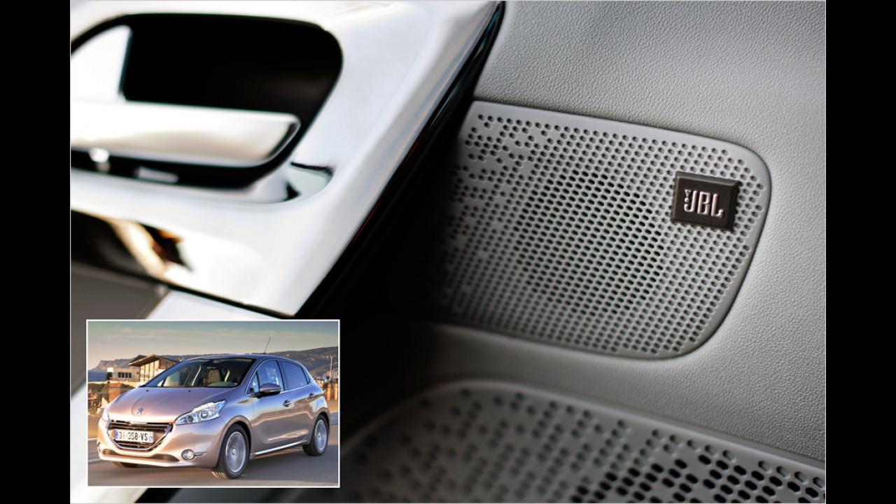 Peugeot: JBL