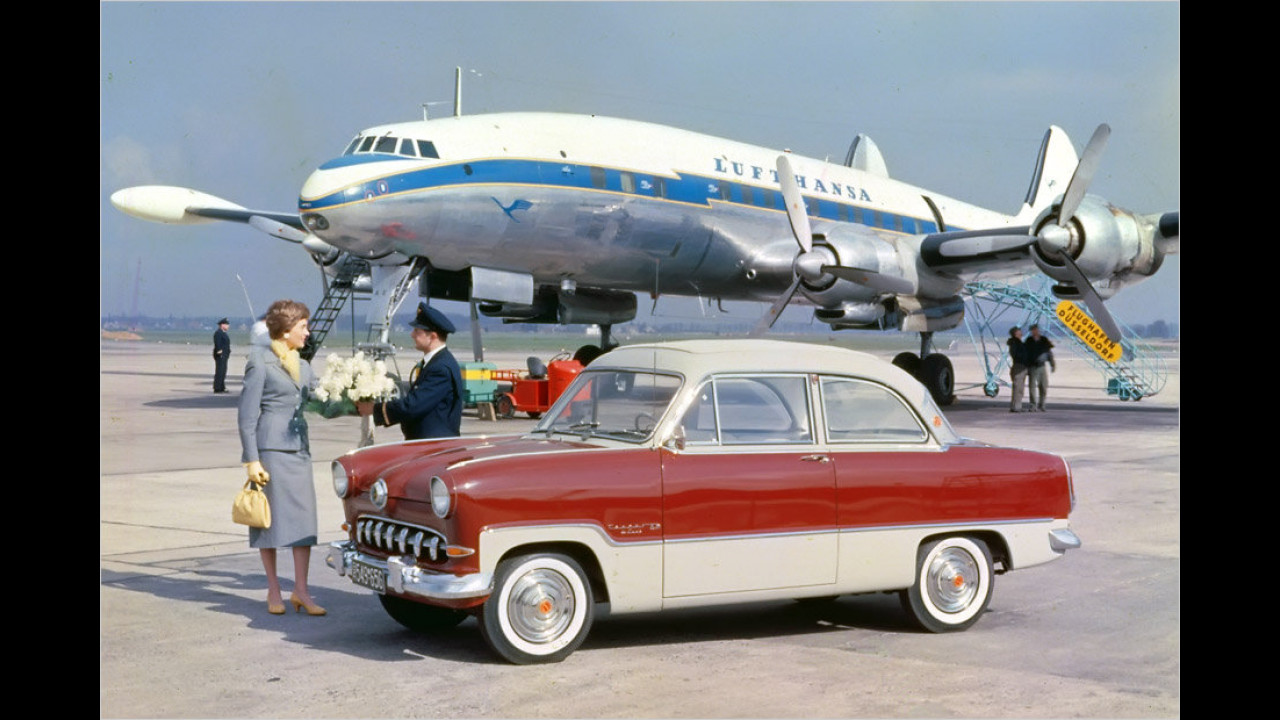 60 Jahre Ford Weltkugel-Taunus