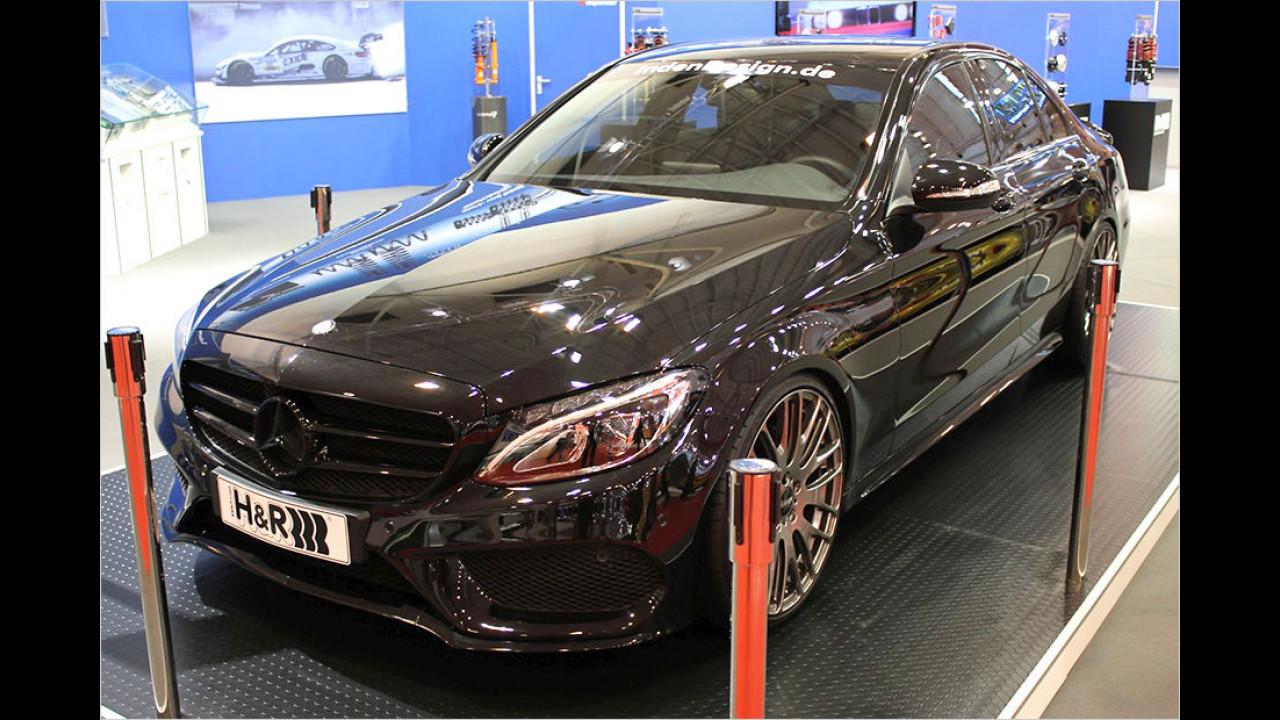 H&R Mercedes C-Klasse