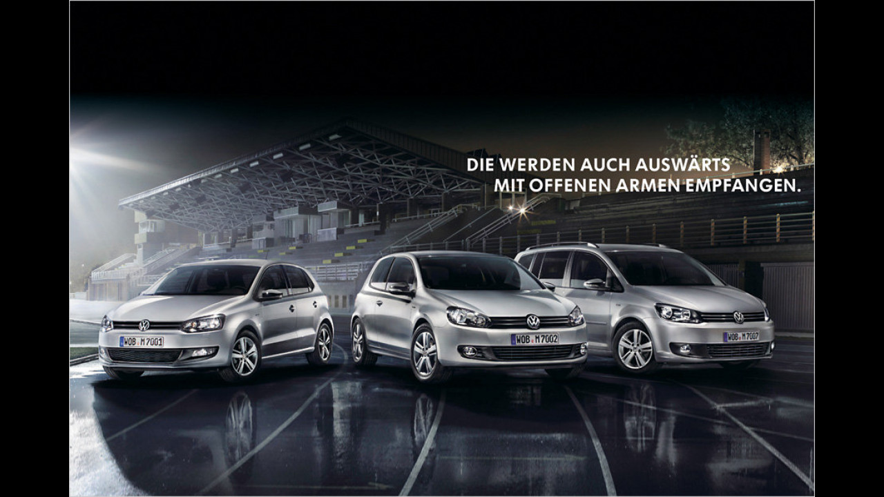 VW Match-Sondermodelle