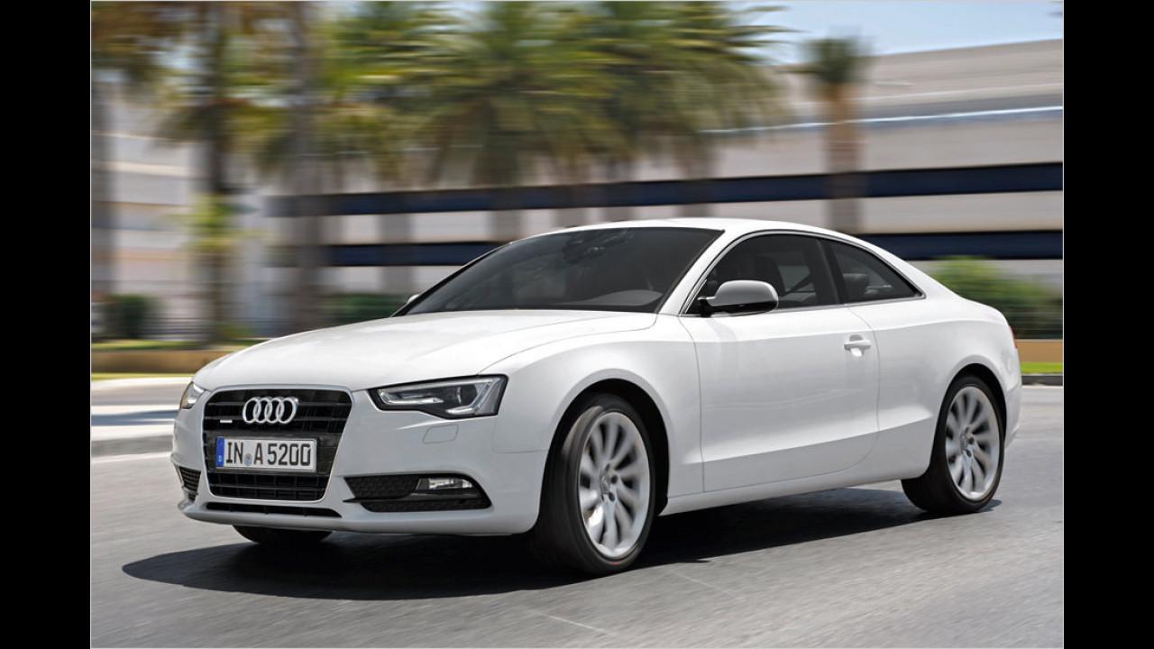 Top 2 bei Männern: Audi A5 (80,4 Punkte)