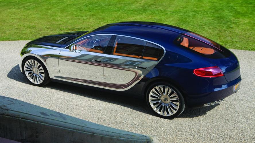 Bugatti - Une quatre portes pour remplacer la Chiron ?