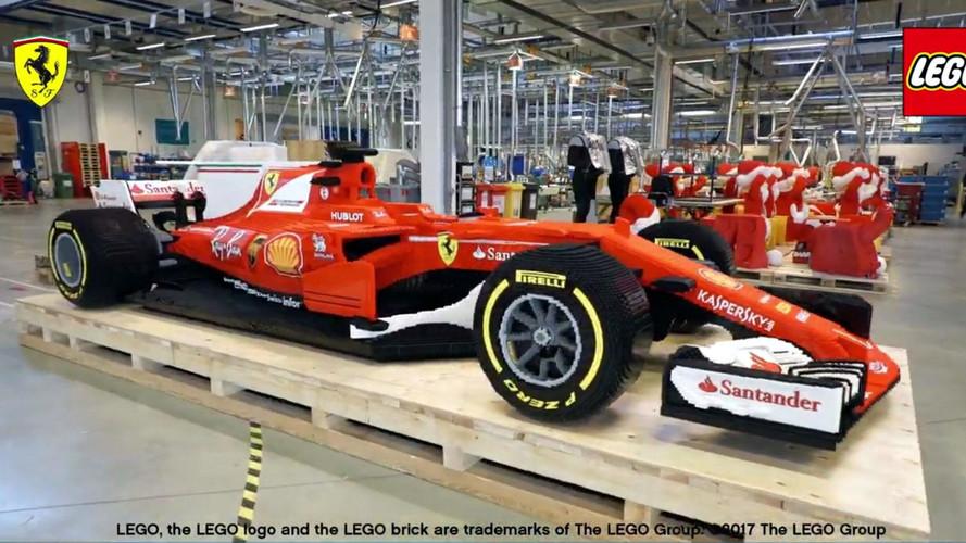 Vídeo - Veja a montagem de um Formula 1 com peças de Lego
