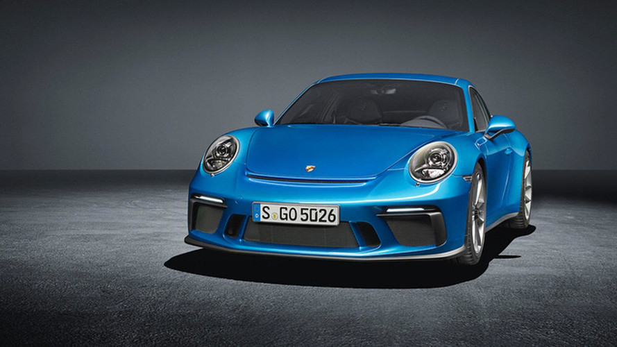 Porsche 911 GT3 Touring Package leaked official images