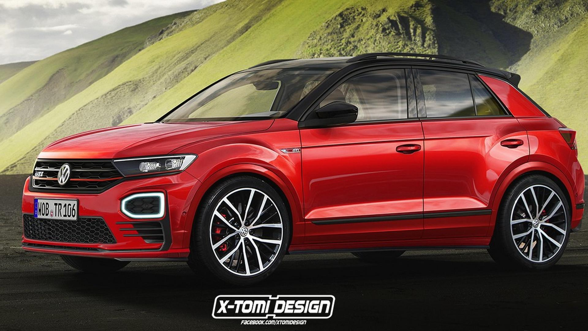 vw t roc gti will only exist in the virtual world. Black Bedroom Furniture Sets. Home Design Ideas
