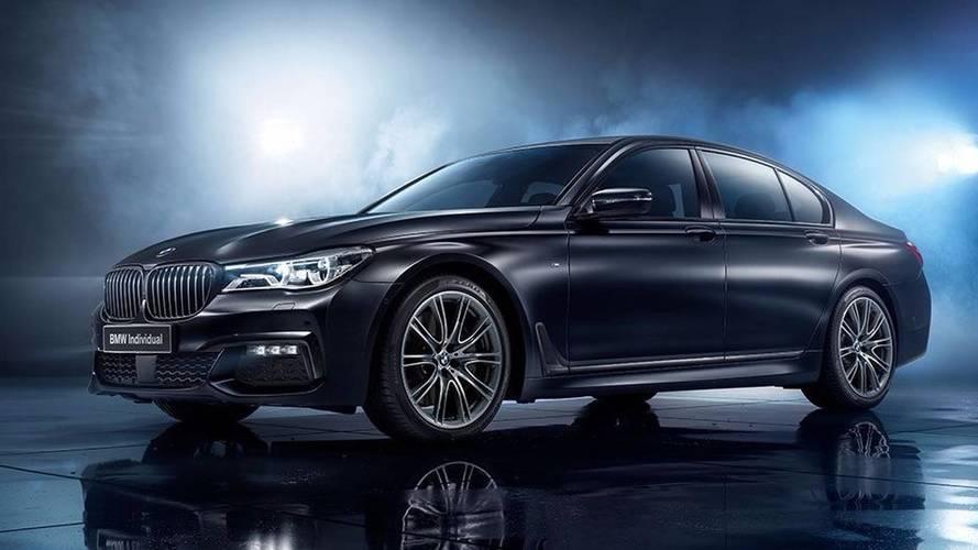 BMW Série 7 Edition Black Ice