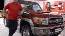 New Toyota Landcruiser 70 Series