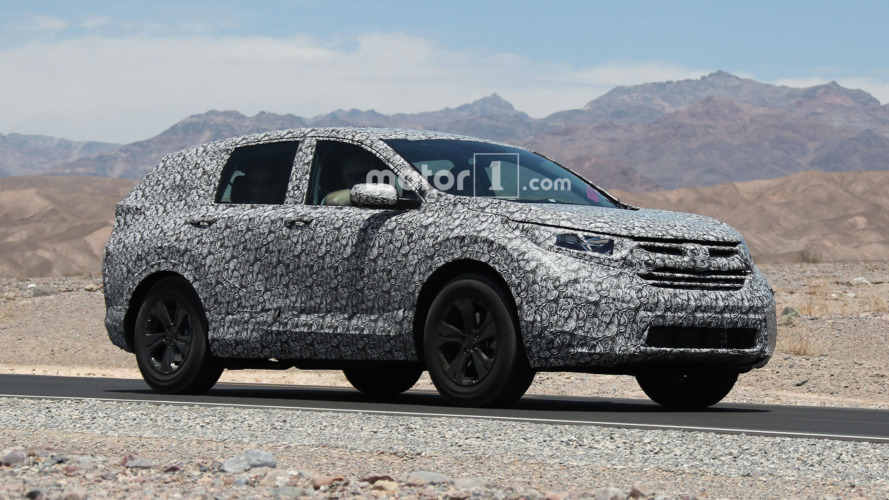 2018 Honda CR-V spied looking hot in the desert
