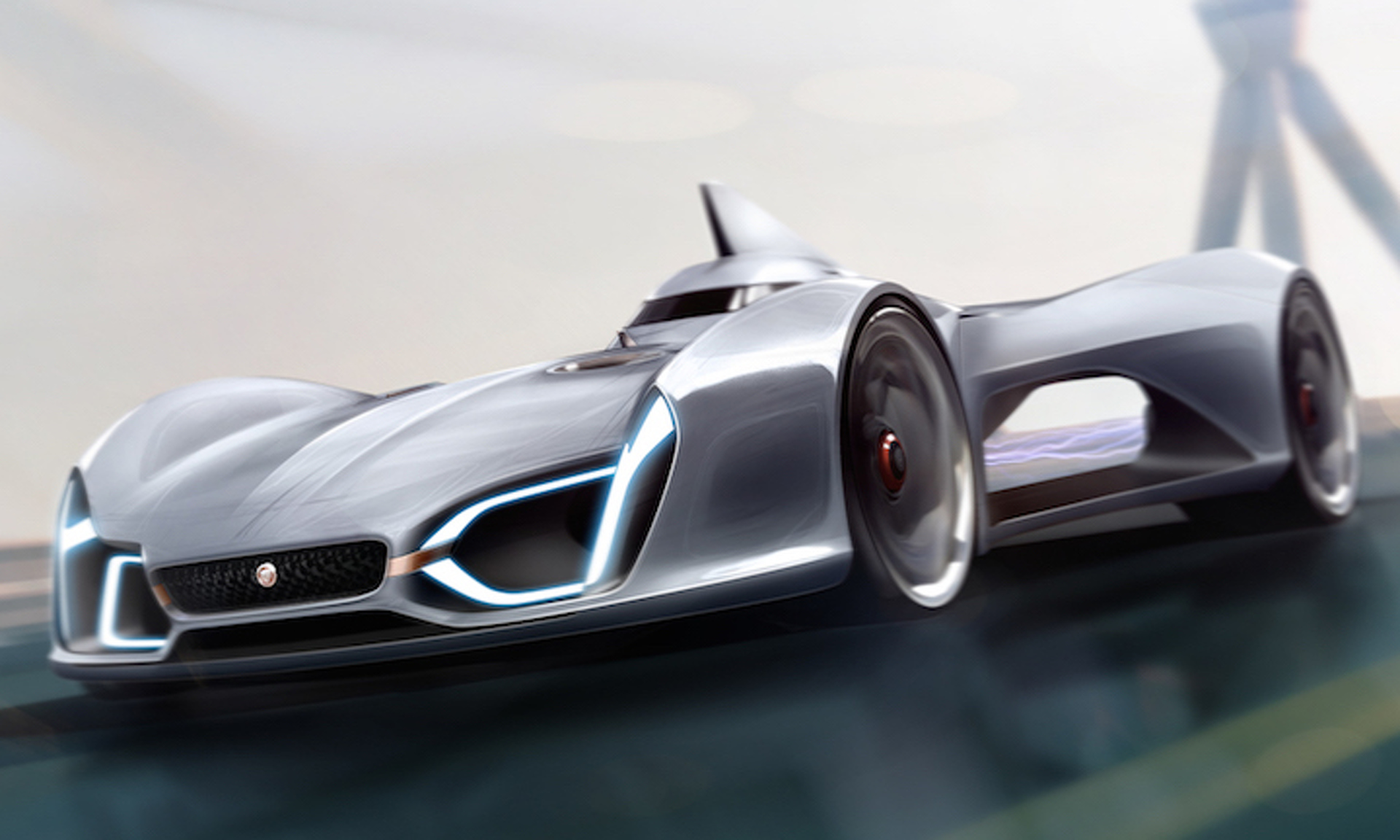 Future Of The Car: Jaguar Concept Car Pushes The Limits Of Technology And Design