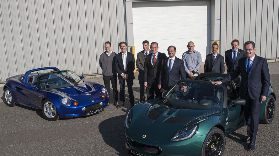 Lotus builds their 40,000 model based on the Small Car Platform