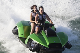 Rapper French Montana Too Scared To Ride His Quadski