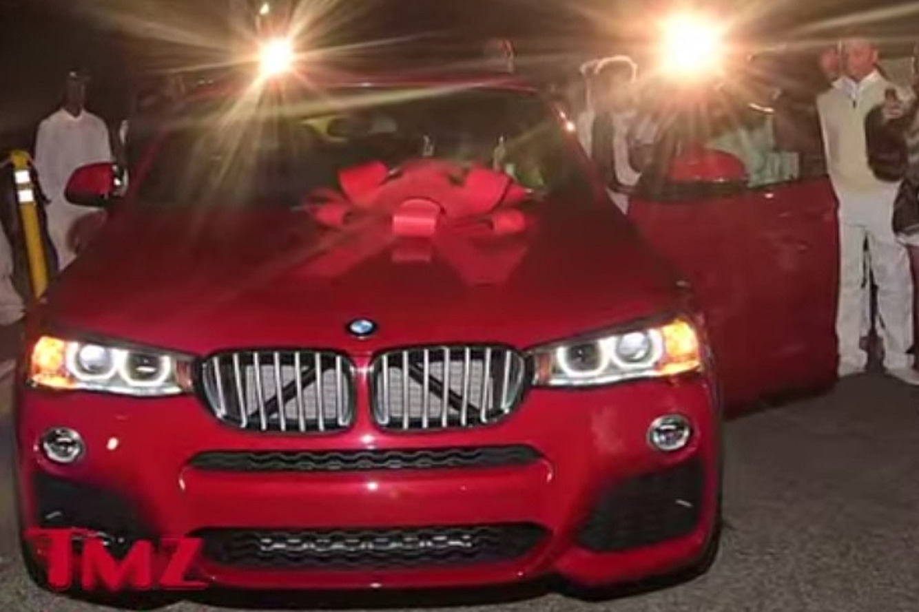 Lil' Wayne's Daughter Got a Ferrari, BMW For Sweet 16