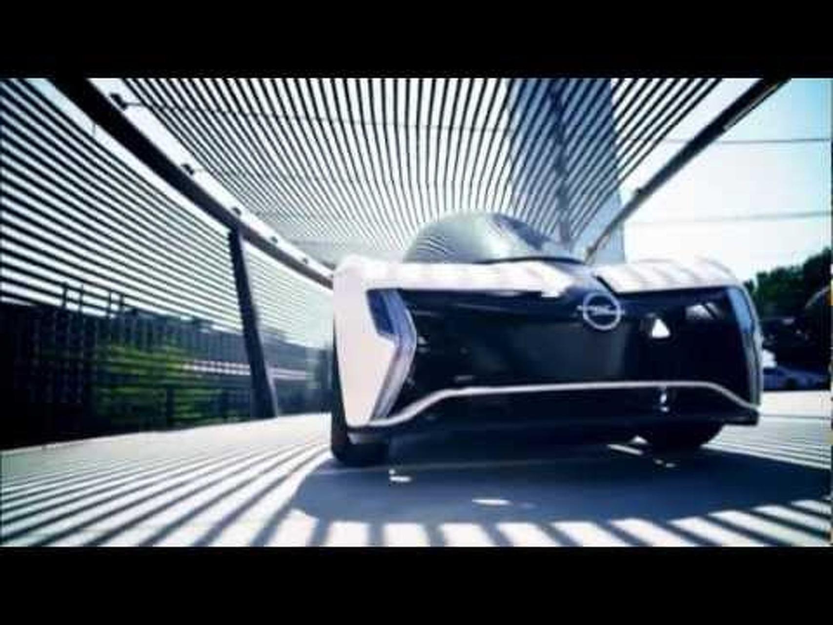 2011 Opel RAK e Concept - 2011 Frankfurt Motor Show Video