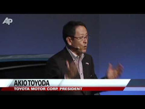 Toyota Unveils High-tech Car Ahead of Show