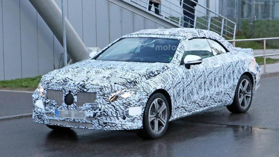 Spyshots - La Mercedes Classe E Cabriolet 2018 se dévoile