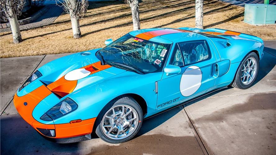 Unused 2006 Ford GT Heritage Edition hitting the auction block