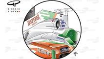 Force India VJM04 air intake