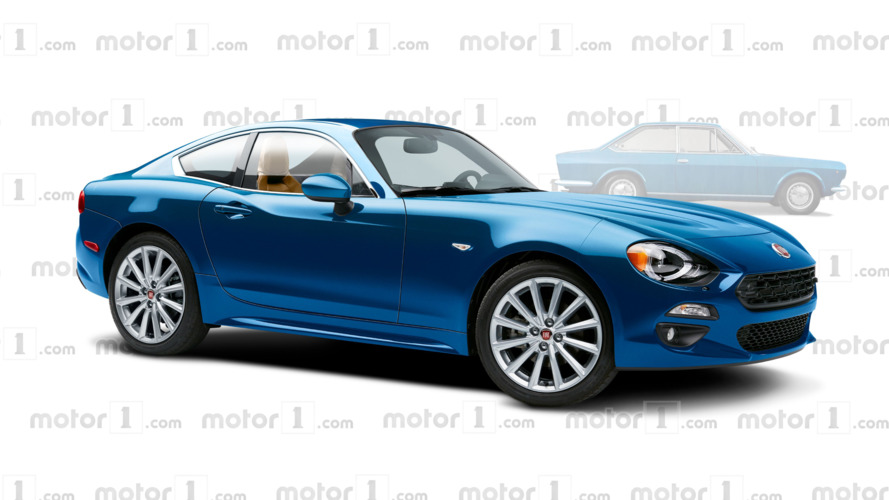 Fiat 124 Coupe render makes us wish it were real