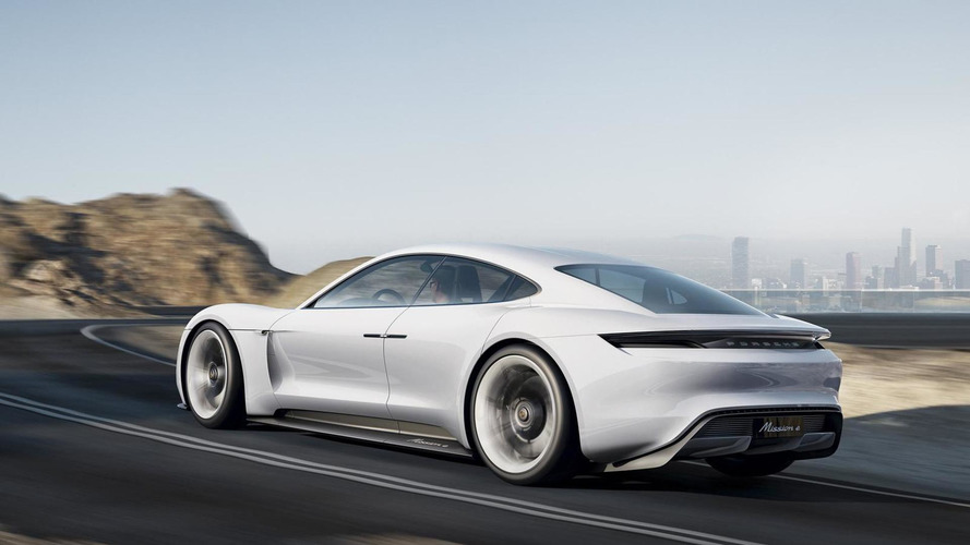 Porsche Mission E concept returns in four new videos