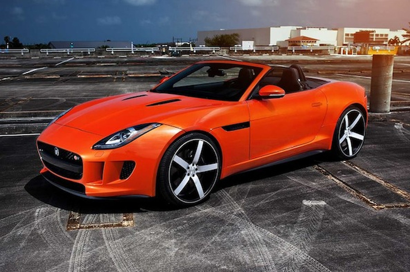 Vossen Drops the new F-Type on a Set of Wheels